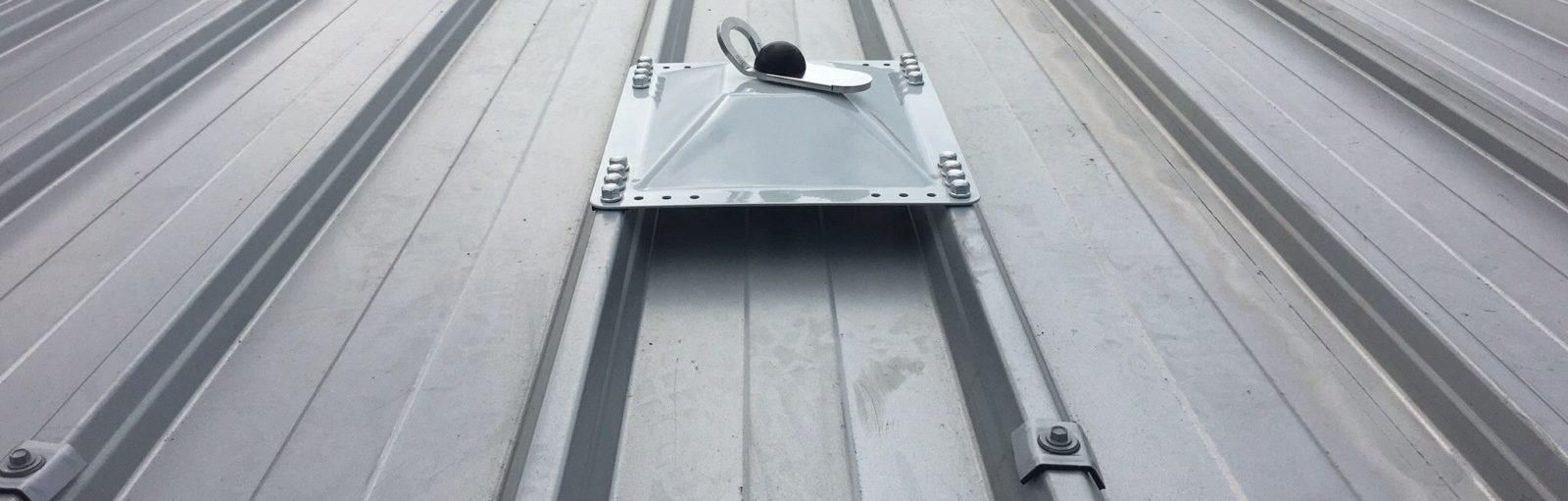 ankerpunt op dak