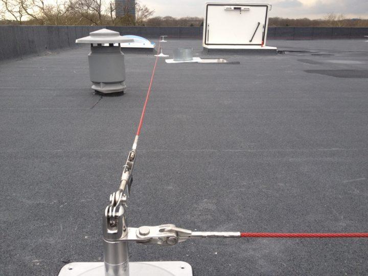 leeflijn op plat dak