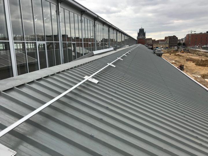ankerpunten op dak