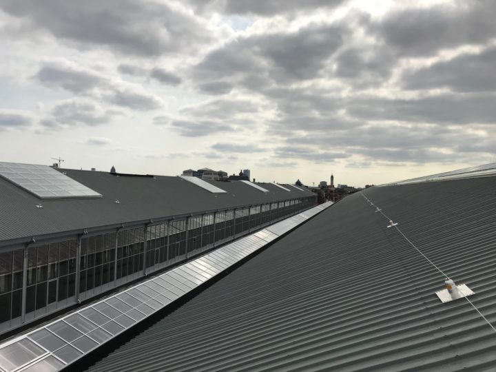 ancrages et lignes de vie sur toit